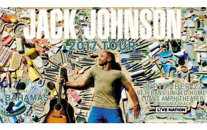 Win tickets to see Jack Johnson!