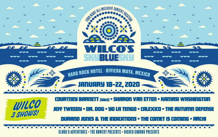 Win a pair of tickets to Wilco's Sky Blue Sky Festival