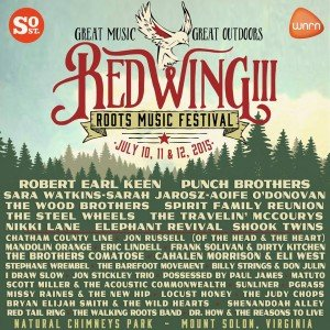 Red Wing Roots Music Festival III @ Natural Chimneys Park  | Mount Solon | Virginia | United States