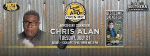L.Y.A.O. Comedy Open Mic Night  hosted by Comedian Chris Alan @ The Southern Cafe and Music Hall | Charlottesville | Indiana | United States