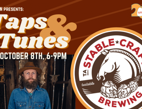 Taps & Tunes Kicks Off Friday at Stable Craft Brewing!